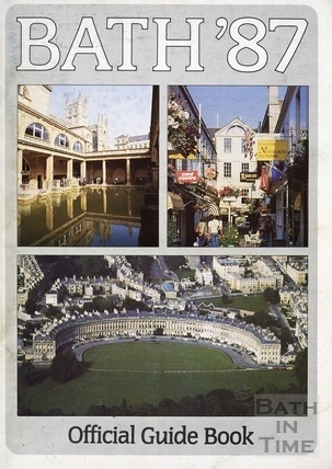 Bath Official Guide Book 1987