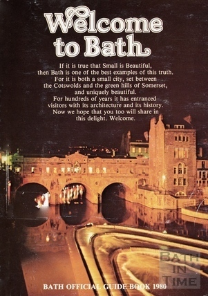 Bath Official Guide Book 1980