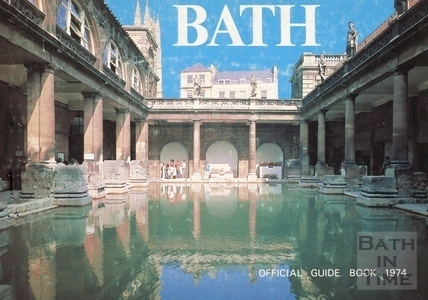 Bath Official Guide Book 1974