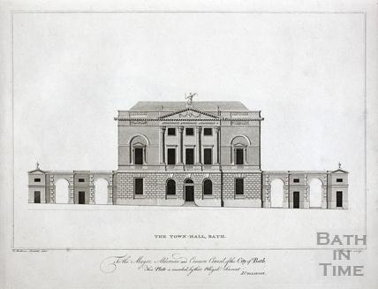The Town Hall, Bath c.1790