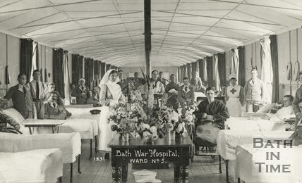 Bath War Hospital, Ward No. 5, Bath c.1916