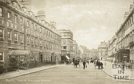 York House Hotel, York Buildings, Bath 1907