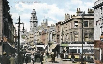 Southgate Street, Bath c.1905