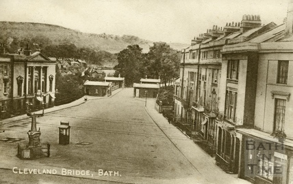 Cleveland Bridge, Bath c.1930