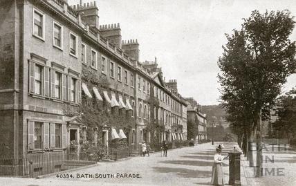South Parade, Bath c.1910