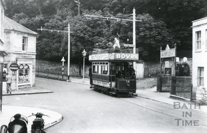 Bath Electric Tram, Weston, Bath 1938
