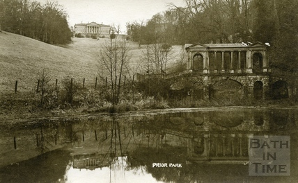 Prior Park and Palladian Bridge, Bath c.1920