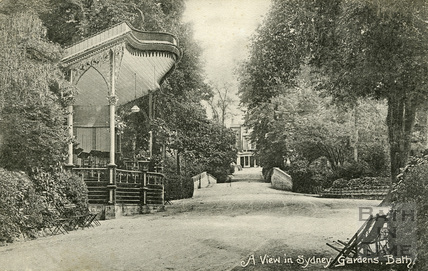 A view in Sydney Gardens, Bath c.1912