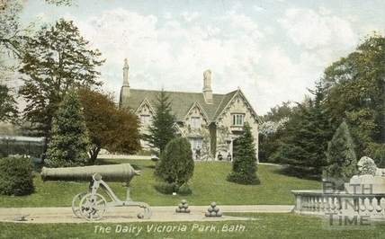The Dairy, Royal Victoria Park, Bath c.1905