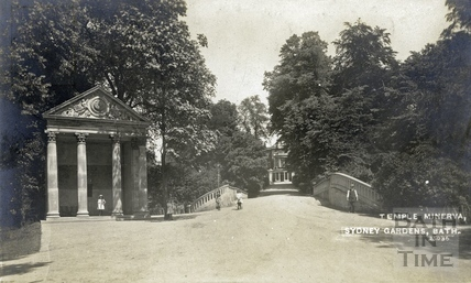 The Temple of Minerva, Sydney Gardens, Bath c.1915
