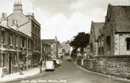 High Street, Weston, Bath c.1935