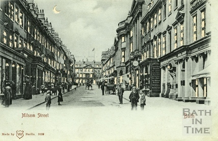 Milsom Street, Bath c.1903