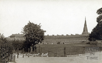 The Royal Crescent, Bath c.1916