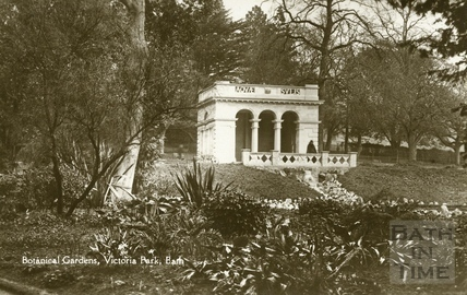 Botanical Gardens, Victoria Park, Bath c.1930
