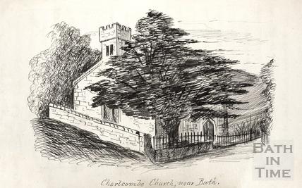 Charlcombe Church c.1893