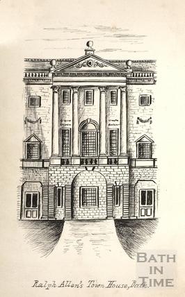 Ralph Allens Town House, Bath c.1893