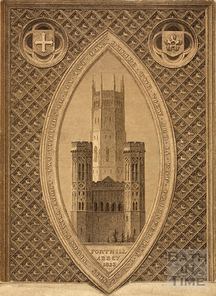 Fonthill Abbey, Wiltshire 1823
