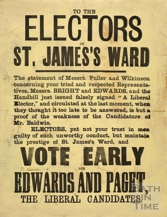 To the Electors of St. James's Ward