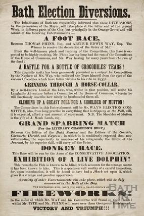Bath Election Diversions 1859