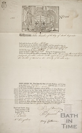- St. Ann's Court, Parish of Walcot, Bath 1768