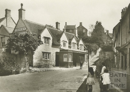 The Chequers, Market Place, Box c.1920