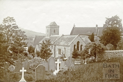St. Mary the Virgin Church, Swainswick c.1890