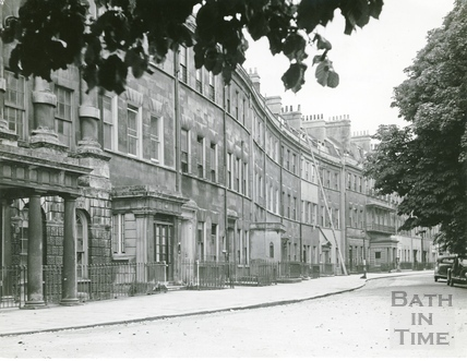 Grosvenor Place, Bath c.1940