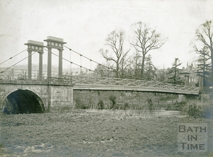 Grosvenor Suspension Bridge, Bath c.1920