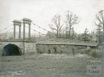 Grosvenor Suspension Bridge, Bath c.1920