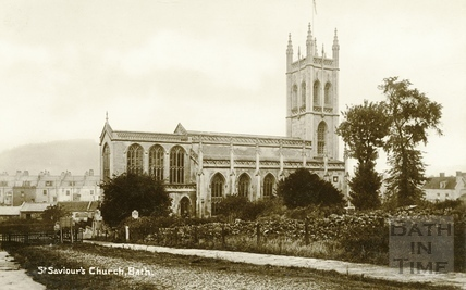 St. Saviour's Church, Larkhall, Bath c.1910