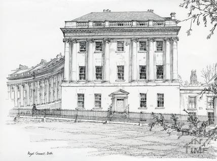 1, Royal Crescent, Bath c.1978
