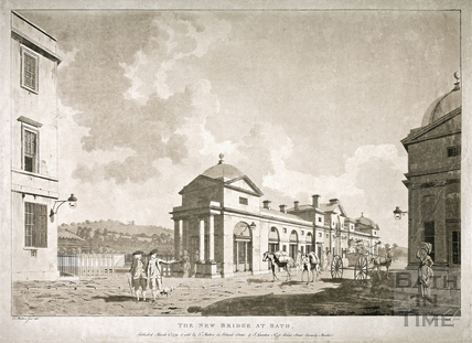The New Bridge, Bath 1779