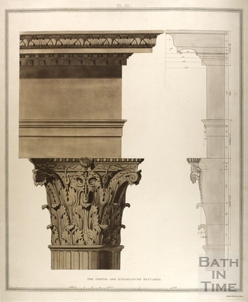 The Capital and Emblature Restored, Bath 1802
