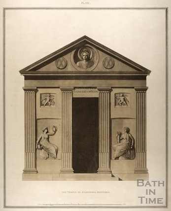 The Temple of Sulminerva restored, Bath 1802