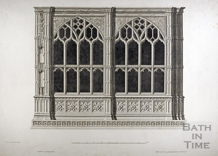 Prior Bird's Chapel, Bath Abbey, Bath 1798