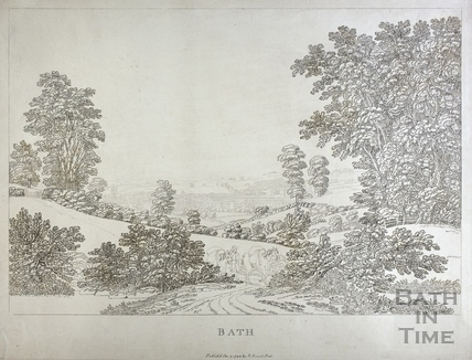 View of Bath 1792