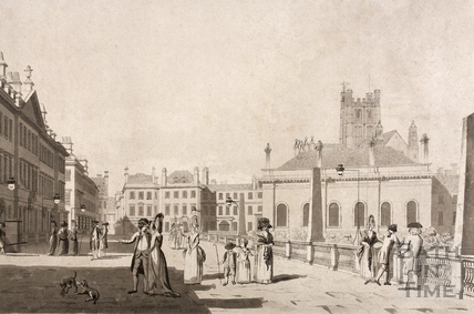 The North Parade, Bath 1779 - detail