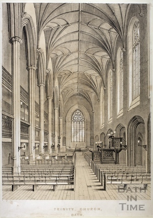 Trinity Church, Bath 1845