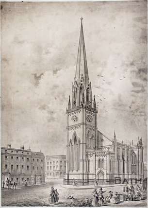 St. Michael's Church, Bath c.1836?