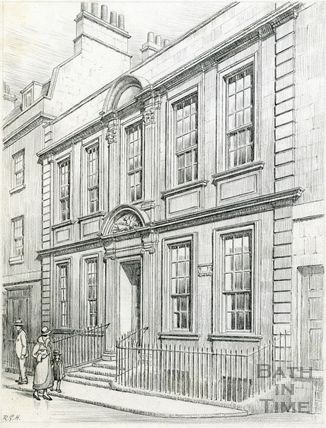 General Wolfe's House, 5, Trim Street, Bath 1939