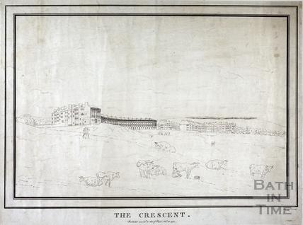 The Royal Crescent, Bath 1773