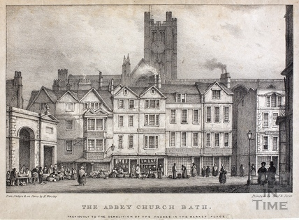 The Abbey Church, Bath 1838