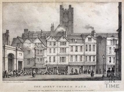 The Abbey Church, Bath 1838