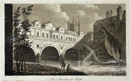 New Bridge at Bath 1792