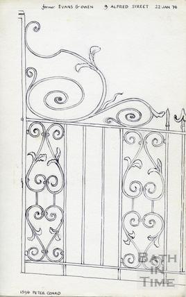 9, Alfred Street, Bath 22 Jan 1976