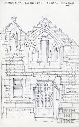 Bailbrook Lane, Bath 10 Nov 1973