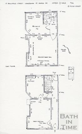 17, Ballance Street, Bath 31 Mar 1968