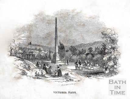 Victoria Park, Bath 1848