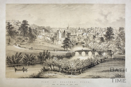 View of Bradford-on-Avon, Wiltshire c.1850