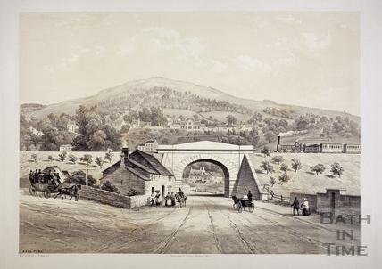 The Railway at Bathford c.1850